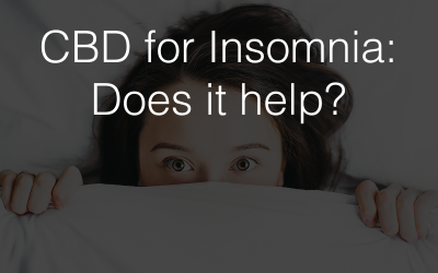 CBD for Insomnia: What We Know