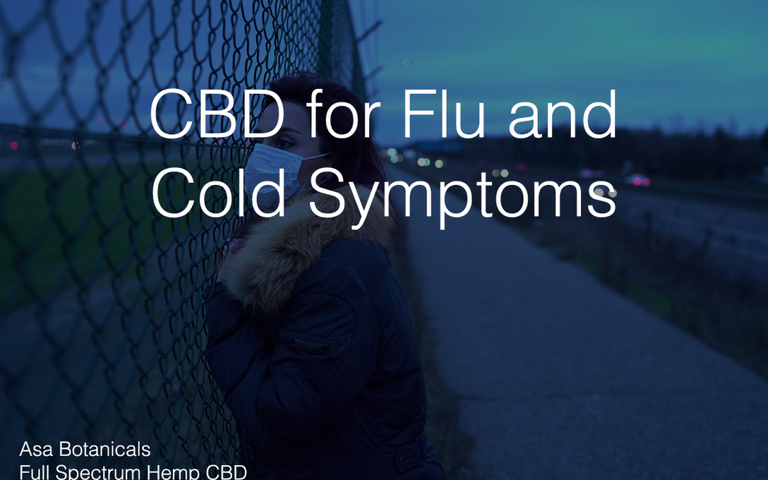 CBD for Flu and Cold Symptoms